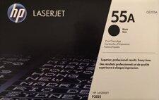 HP LaserJet toner 55A (svart) CE255A